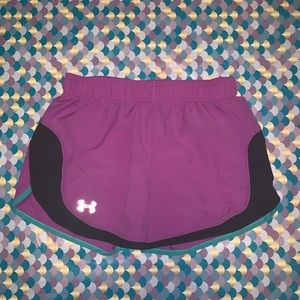 Under Armour Girl's Athletic Loose Running Shorts